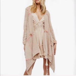 New Free People All Washed Out Cardigan Sweater M
